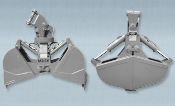 Extra Light Weight Hydraulic Clamshell Buckets