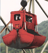 Hydraulically Operated Self-Contained Medium-Weight Rehandling Buckets